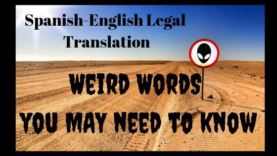 Weird Words You Need to Know
