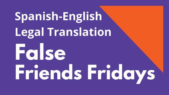 False Friends Fridays new